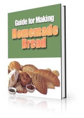 Product picture Guide for Making Homemade Bread w/ PLR