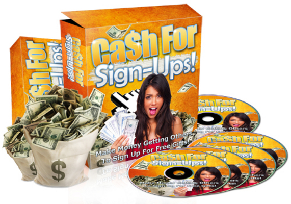 Product picture Cash For Sign Ups - Video Series