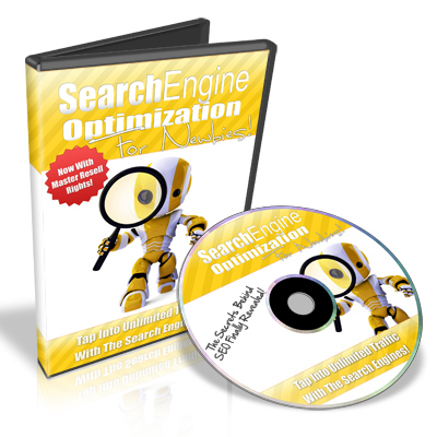 Product picture Search Engine Optimization For Newbies - Video Series