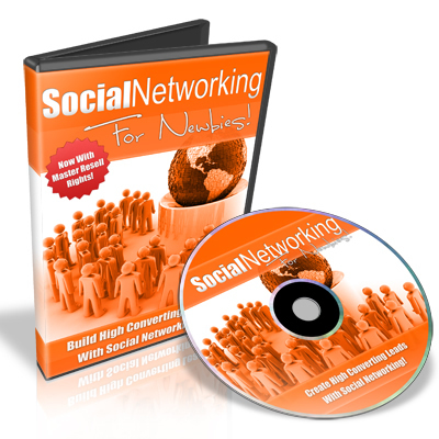 Product picture Social Networking For Newbies - Video Series