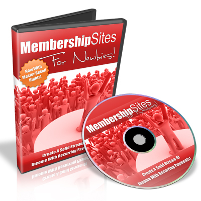 Product picture Membership Sites For Newbies - Video Series